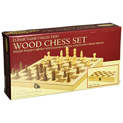 Classic Wood Chess Set: Toys & Games