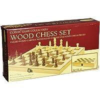 John N. Hansen Co. Classic Wood Chess Set
