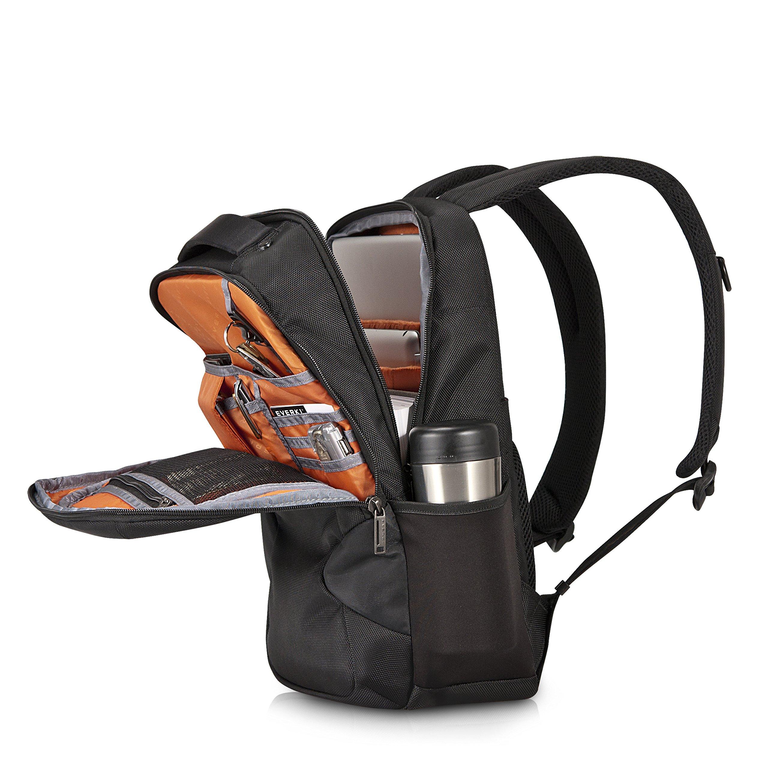 Everki Studio Slim Laptop Backpack for upto 14.1-Inch Laptops/15-Inch MacBook Pro (EKP118) by Everki (Image #2)