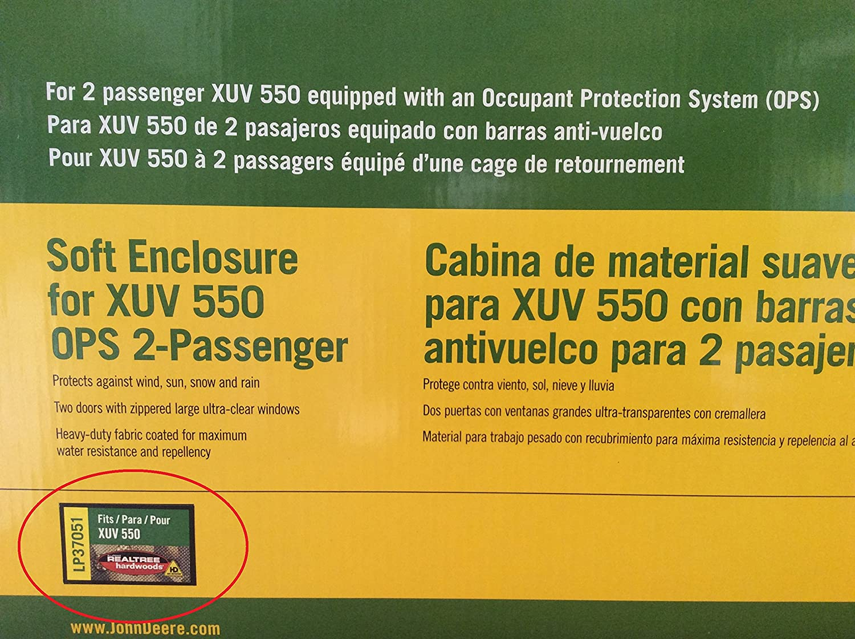 Camo 2 Passenger John Deere XUV 550 OPS Soft Cab