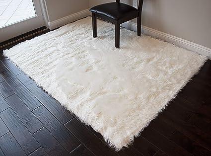 Amazon Com Furry Fluffy Fuzzy Soft Solid Faux Fur Sheepskin