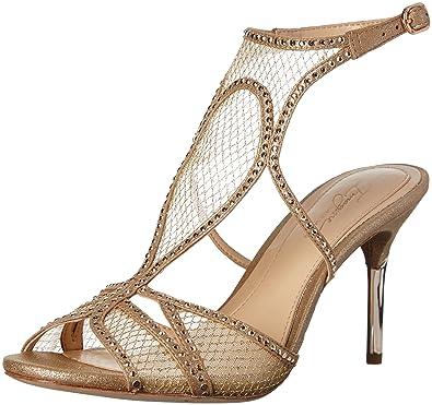 Imagine Vince Camuto Women's Pember Dress Sandal, Soft Gold, ...