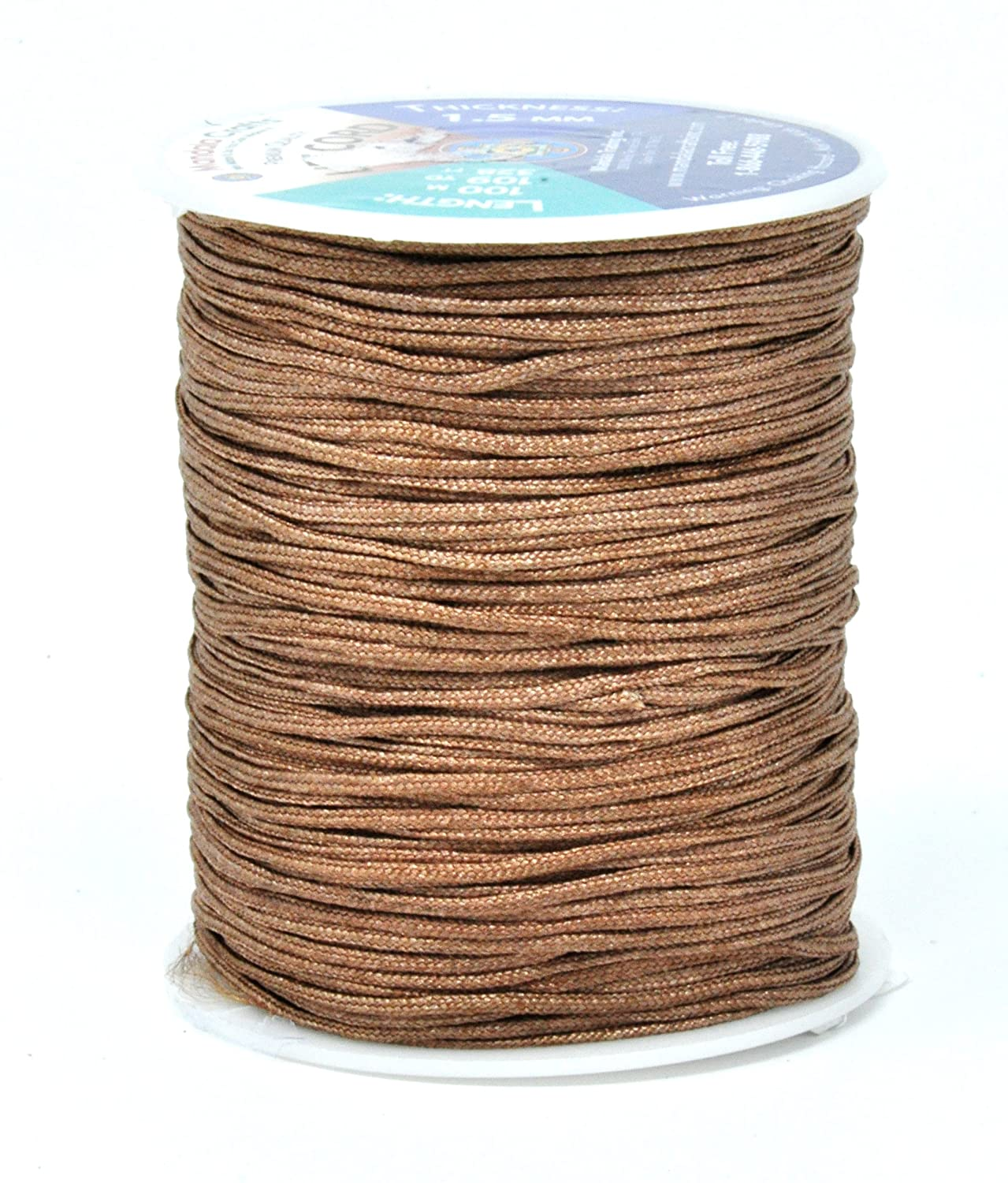 0.8mm, White Roman Shade Repair Windows Venetian and Roller Blinds Replacement String for RVs Mandala Crafts Braided Nylon Lift Cord
