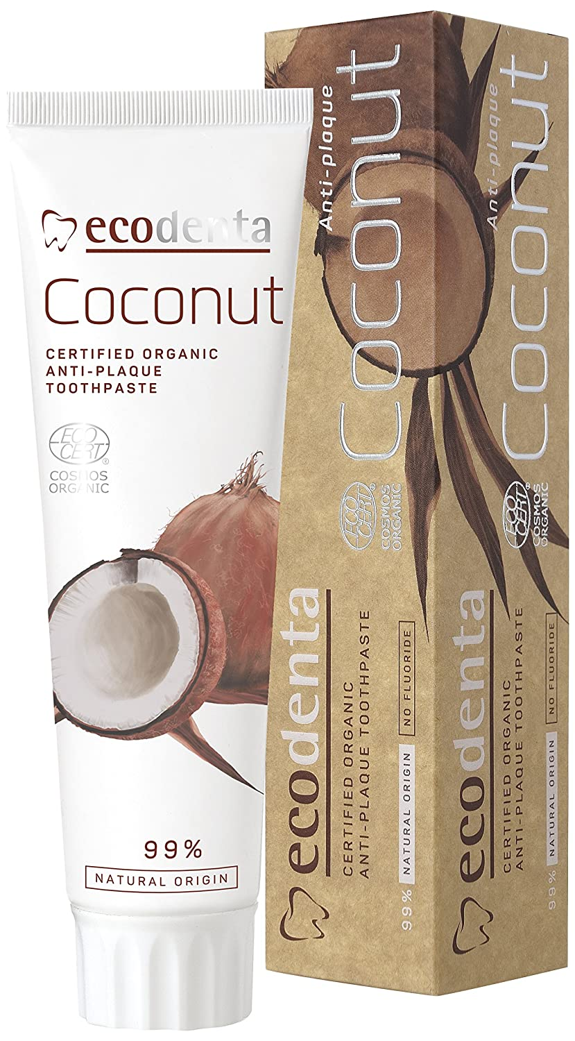 Ecodenta Organic Coconut Anti Plaque Toothpaste 100 ml AMED0013