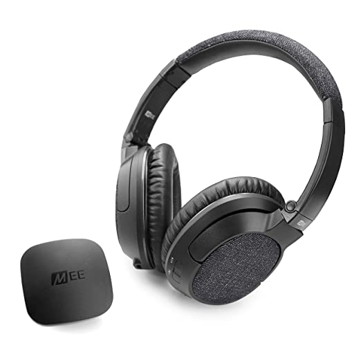 d913f2706ff MEE audio Connect T1M3 Bluetooth Wireless Headphone System for TV - Includes  Bluetooth Wireless Audio Transmitter