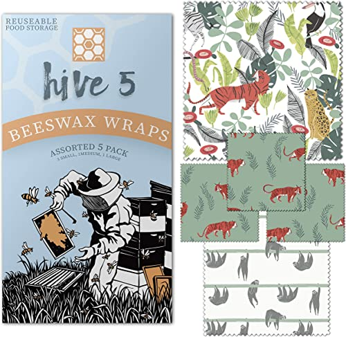 Hive 5 Beeswax Food Wrap