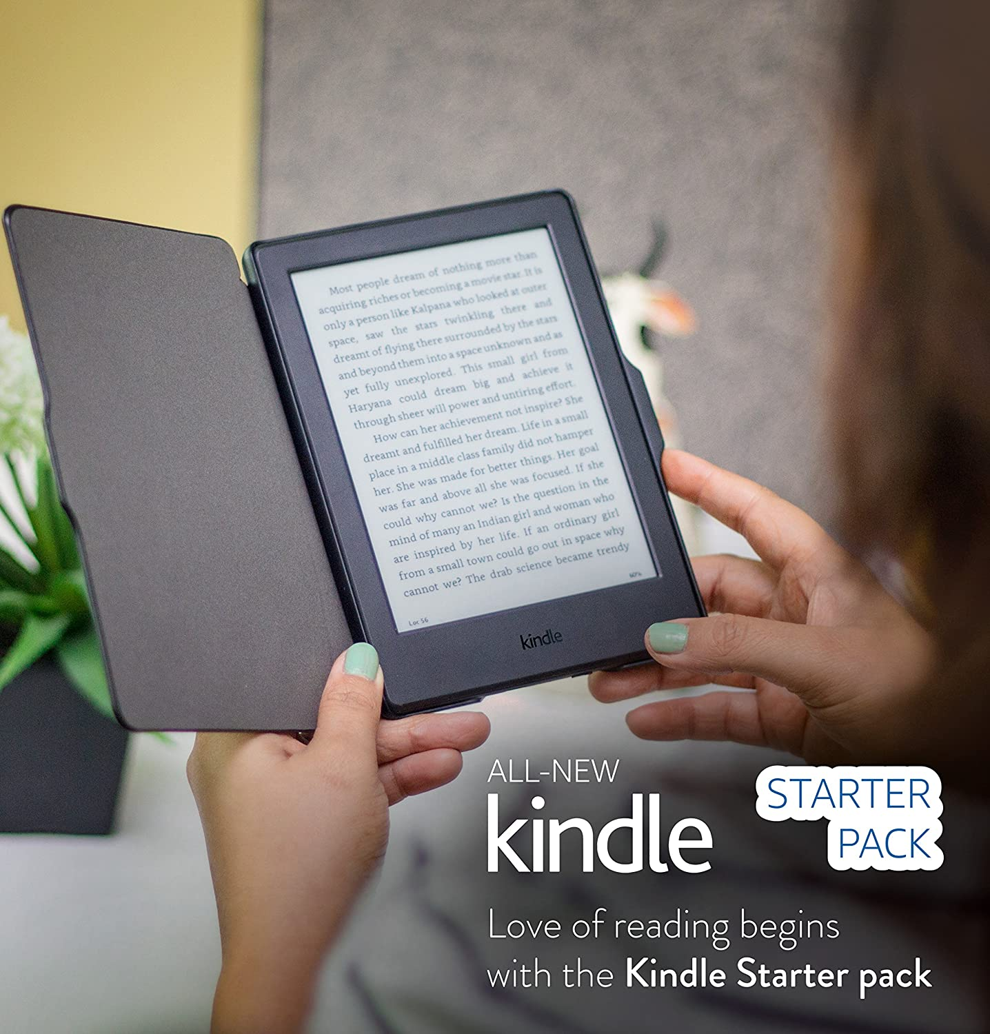 Kindle starter pack with all new kindle e reader black mrp rs kindle starter pack with all new kindle e reader black mrp rs 5999 nupro slimfit cover for kindle mrp rs 999 amazon kindle store fandeluxe Image collections