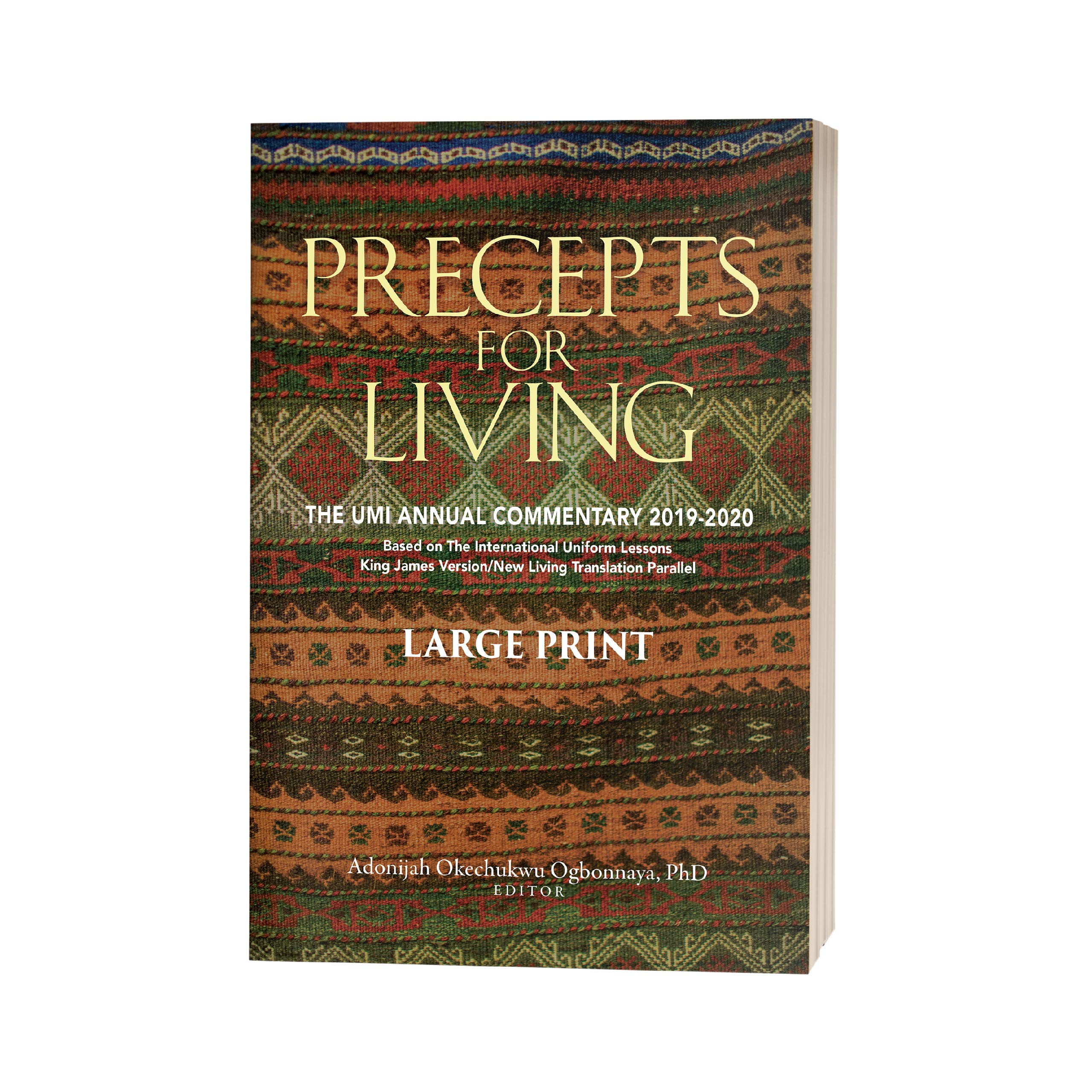 Best Study Bible 2020 Precepts For Living: The UMI Annual Bible Commentary 2019 2020