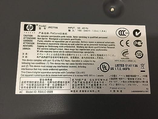 HP ProCurve Conmutador HP ProCurve 2510G-24 Negro 1 Gbit//s, 10//100//1000 Mbps,  5.6 /µs , 8000 entradas, L2, Gestionado FIFO 64-byte packets Switch de red