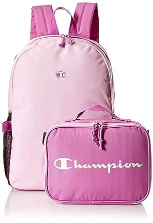 8566ab16ae82 Amazon.com: Champion Girls' Big Munch Backpack & Lunch Kit Combo ...