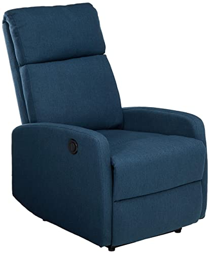 Christopher Knight Home Sophie Power Recliner Chair, Navy Blue
