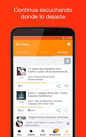 Amazon.com: Podcast & Radio iVoox: Appstore for Android