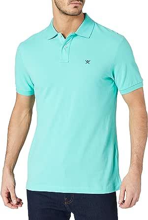 Hackett London Slim Fit Logo Camisa Polo para Hombre