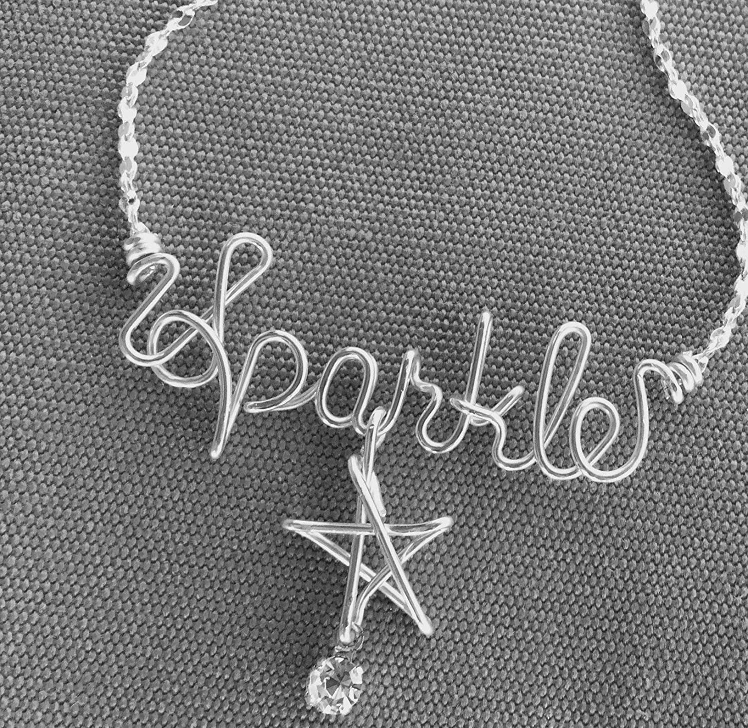 Amazon.com: Name Necklace~Personalized Silver Necklace or ...
