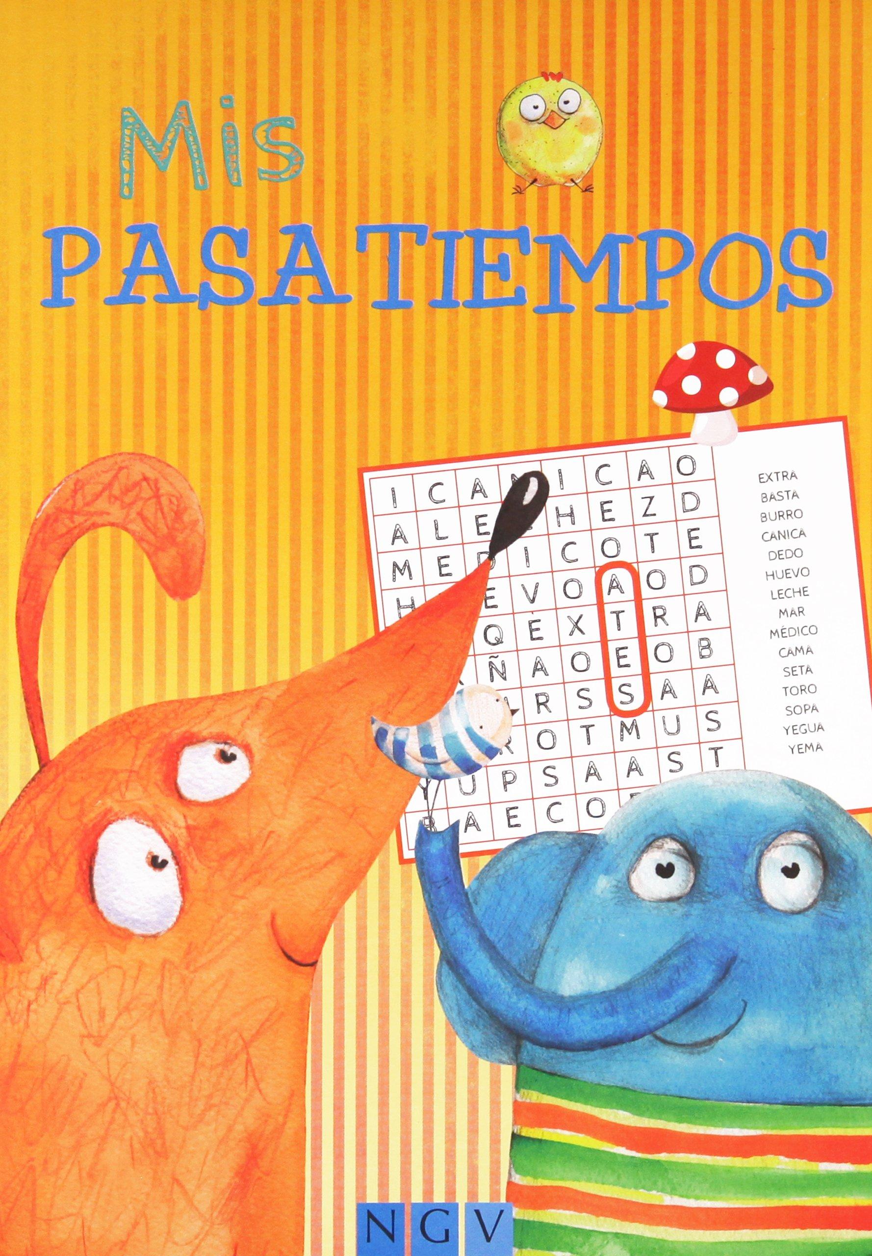 MIS PASATIEMPOS (Spanish) Paperback – 2014