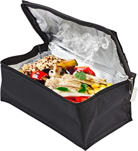Fine Life Products USB POWERED WARMING LUNCH BOX - Keep your lunch warm and ready - Compact design - Thermal insulated interior