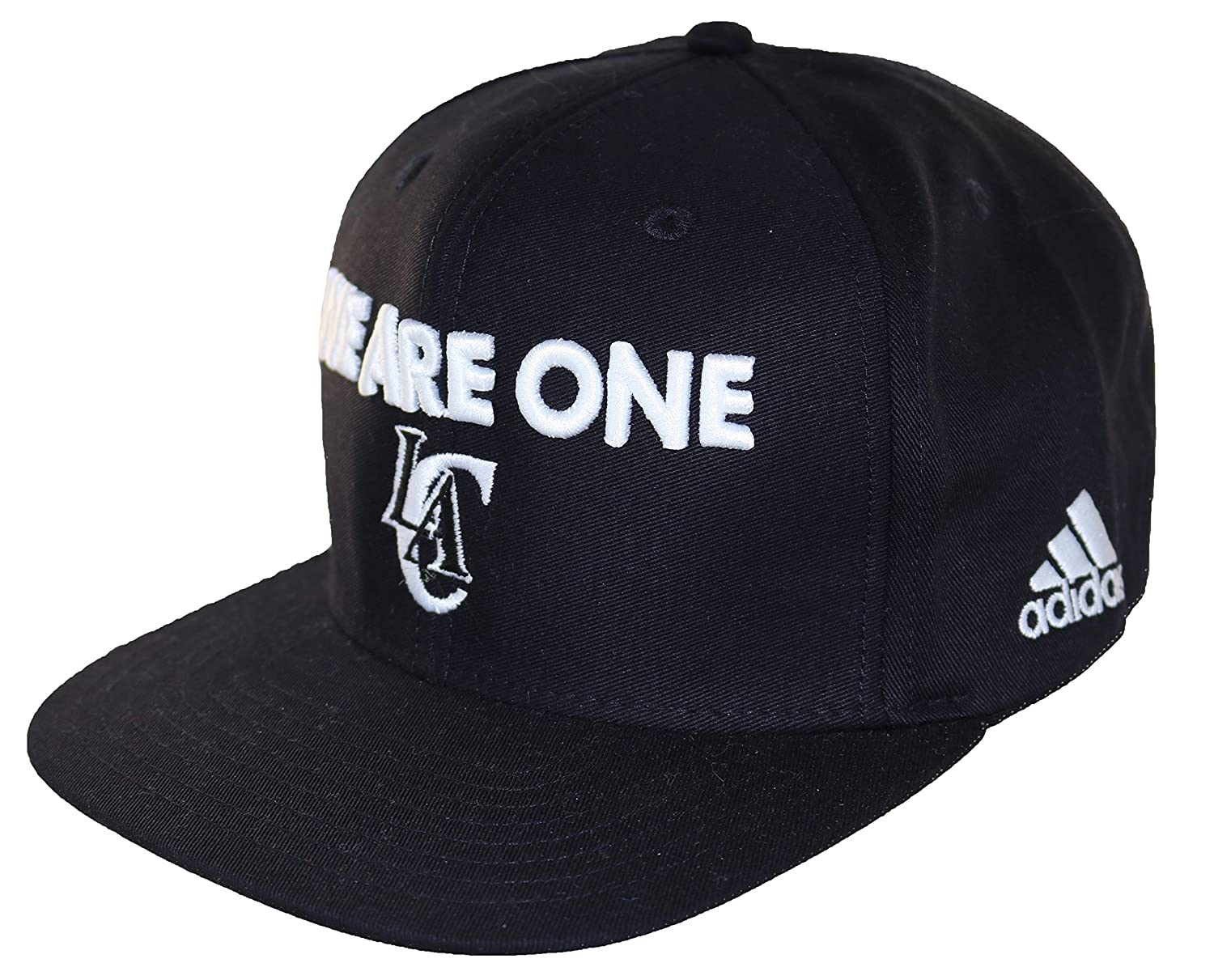 Adidas Mens We Are One Los Angeles Clippers Snapback Cap One Size Black White