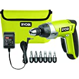 Ryobi 4892210106377 Perceuse Visseuse, 4 V, Multicolore