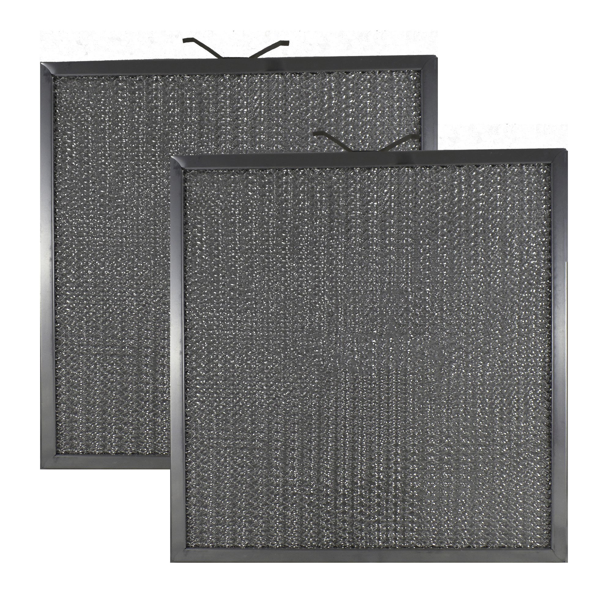 2 PACK Air Filter Factory 11-1/4 X 11-3/4 X 3/8 Range Hood Aluminum Grease Filters AFF144-M