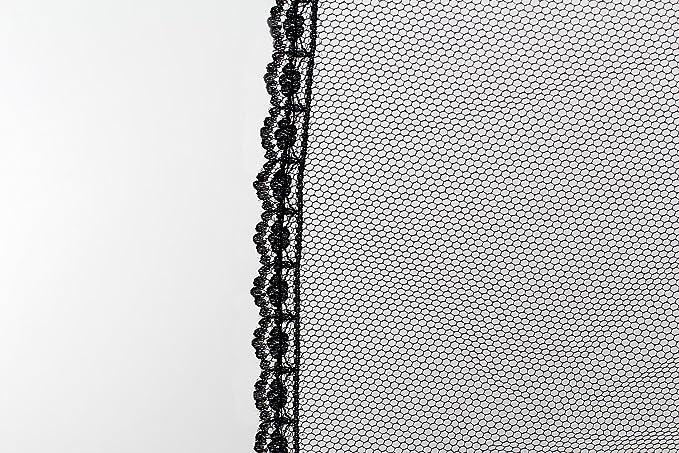 HIMRY Enagua Con encajes, 1 Aro 2 capas de tul y 1 capa de nylon, largo Miriñaque, Crinolina Boda, Un tamaño, conveniente para el tamaño XXS, XS, S, M, L, ...