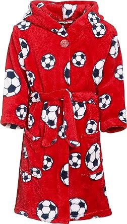Playshoes Football Fleece Bata Rot 8, 6 años (116 cm) para Niños: Amazon.es: Ropa y accesorios