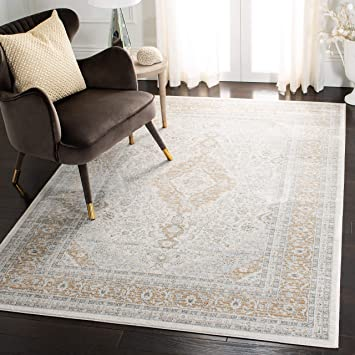 Safavieh Isabella Collection Isa919b Oriental Area Rug 5 3 X 7 6 Cream Beige Furniture Decor Amazon Com