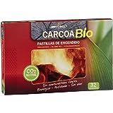 Carcoa Fuego 0327 - Pastillas de Encendido ecológicas Bio, 19 x 2 x 13 cm