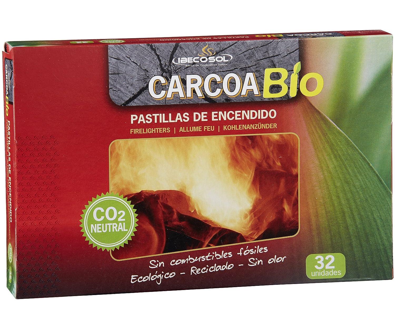 Carcoa Fuego 0327 - Pastillas de Encendido ecológicas Bio, 19...