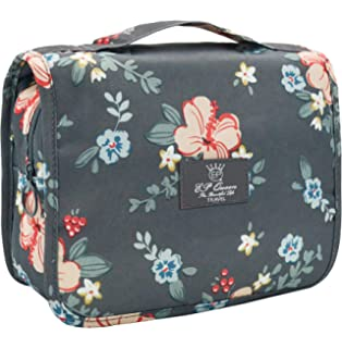1be2a745f381 Amazon.com: 7Senses Hanging Toiletry Bag - Large Capacity Travel Bag ...