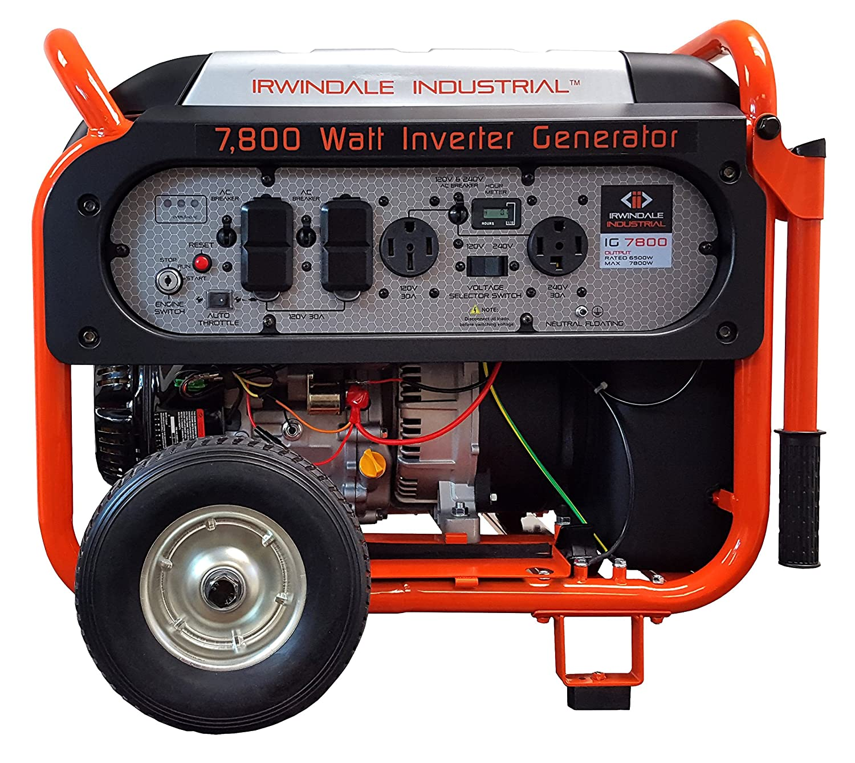 Amazon 7800 Watt Industrial Digital Gas Powered Inverter