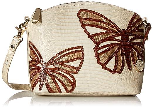 c1d75dce68c8 Brahmin Mini Duxbury Vanilla Cream  Handbags  Amazon.com