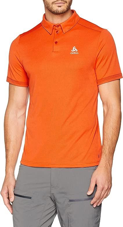 Odlo Polo s/s Nikko F-Dry Light Camiseta, Hombre, Flame, XXL ...