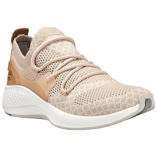 d087365779e Timberland Womens FlyRoam Go Knit Chukka Fashion Sneakers