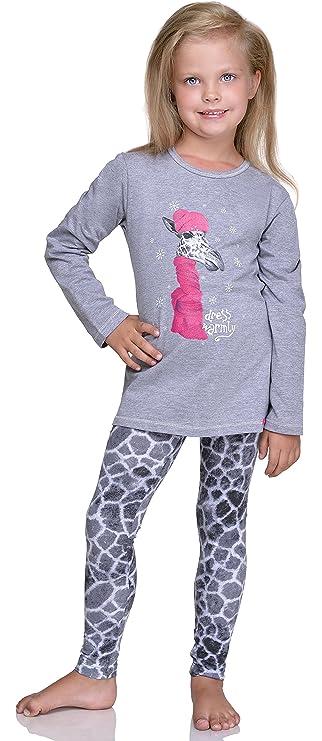 Cornette Pijamas Dos Piezas para Niñas Giraffe: Amazon.es: Ropa y accesorios