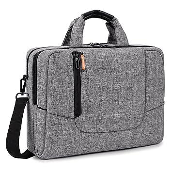 Brinch funda de maleta de nailon suave de ordenador portátil antigolpes bolso bandolera mango maletín con ...