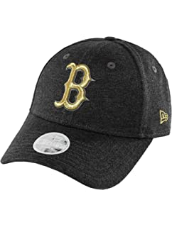 e653adee New Era Womens 9FORTY Boston Red Sox Baseball Cap - Essential Jersey - Dark  Grey