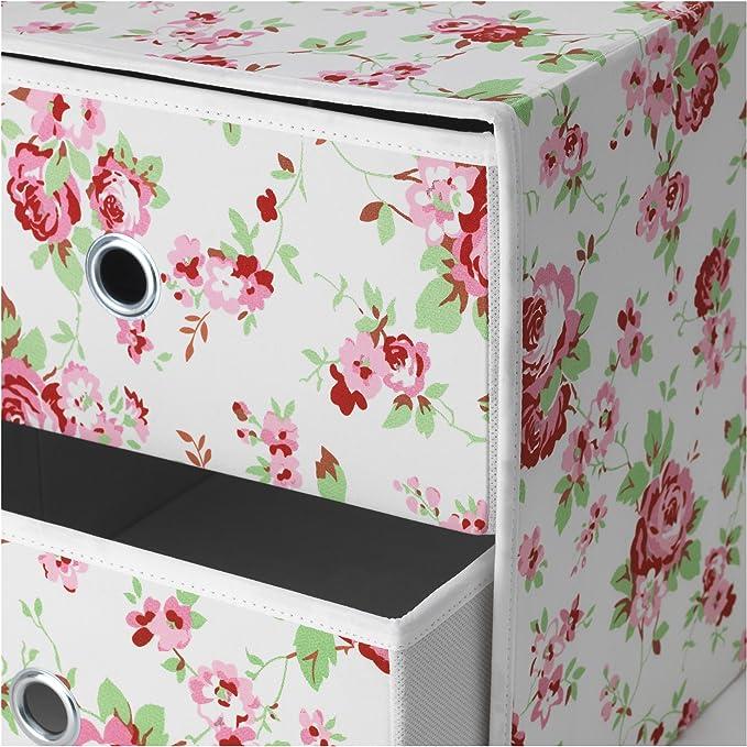 IKEA FLARRA - Mini pecho con estampado floral 2 cajones ...