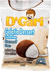 DGARI Gelatin Dessert Mix, Prepare with Milk 4.2 OZ - Pack of 24