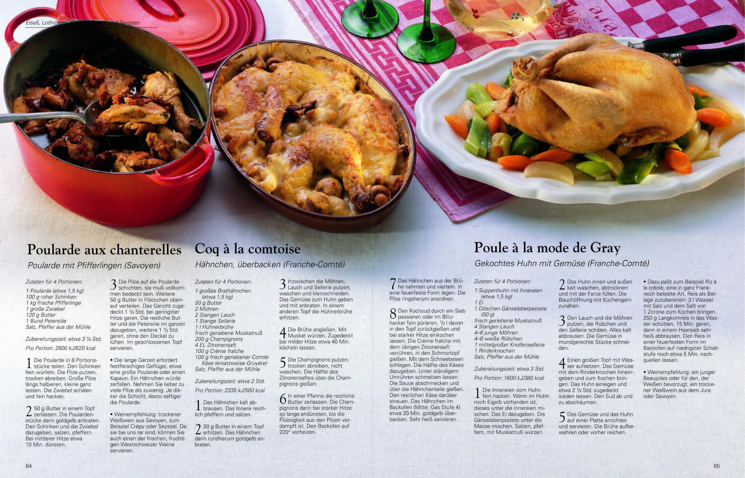 Die echte französische Küche Typische Rezepte und kulinarische