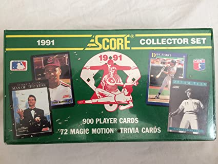 1991 Score Baseball Complete Factory Sealed Set 900 Cards