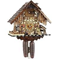 Cuco Reloj Original Negro bosques Cuco Reloj Real