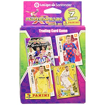 La Liga Santander- Adrenalyn Cards (Panini 9788427871649): Toys & Games [5Bkhe1007397]