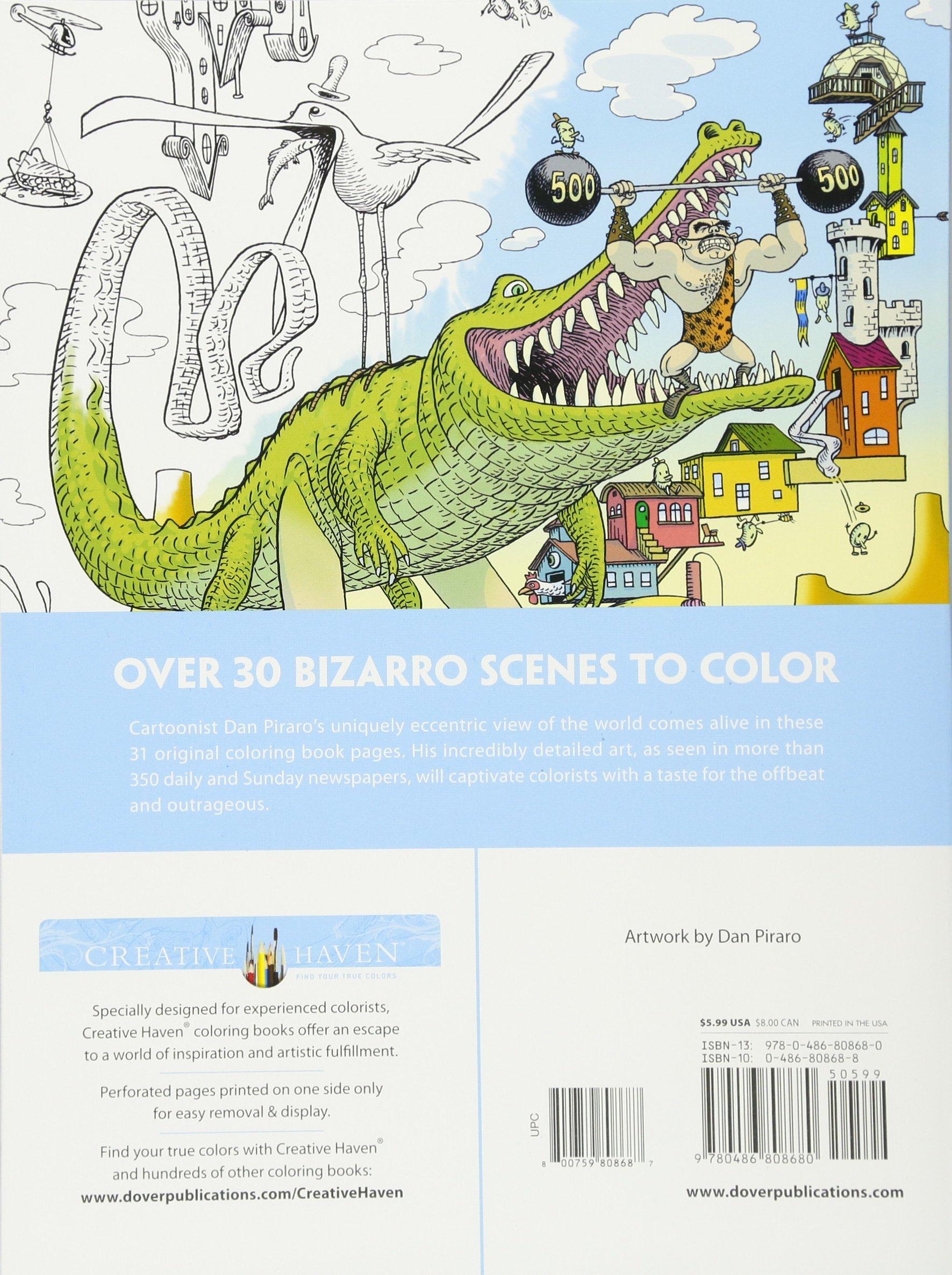 Amazon.com: Creative Haven Bizarro Land Coloring Book: by Bizarro ...