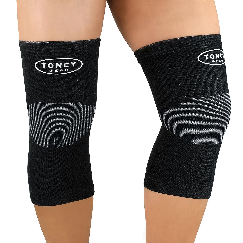 Rodilleras de Soporte- (par) Rodillera de compresión para dolor de rodillas, Artritis, Correr, Trotar, Montañismo, Entrenamiento, Mejoramiento de ...