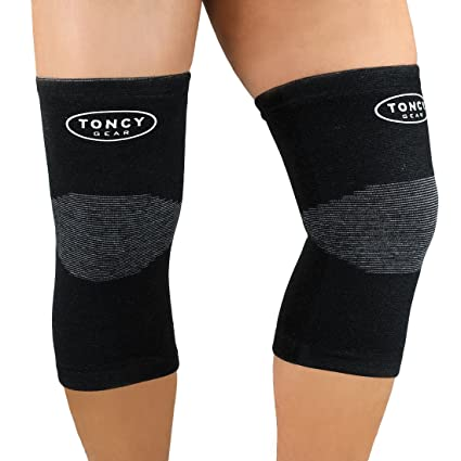 eca1de75b8 Knee Brace Support Designed to Crush Your Agonizing Knee Pain   Compression  Sleeve for Meniscus Tear, Arthritis, ACL, Running   Leg Protector for Torn  ...