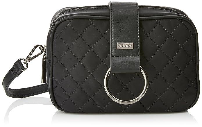 Golina, Womens Cross-Body Bag, Negro (Yini/Negro), 20x13.5x7 cm (W x H L) Mtng