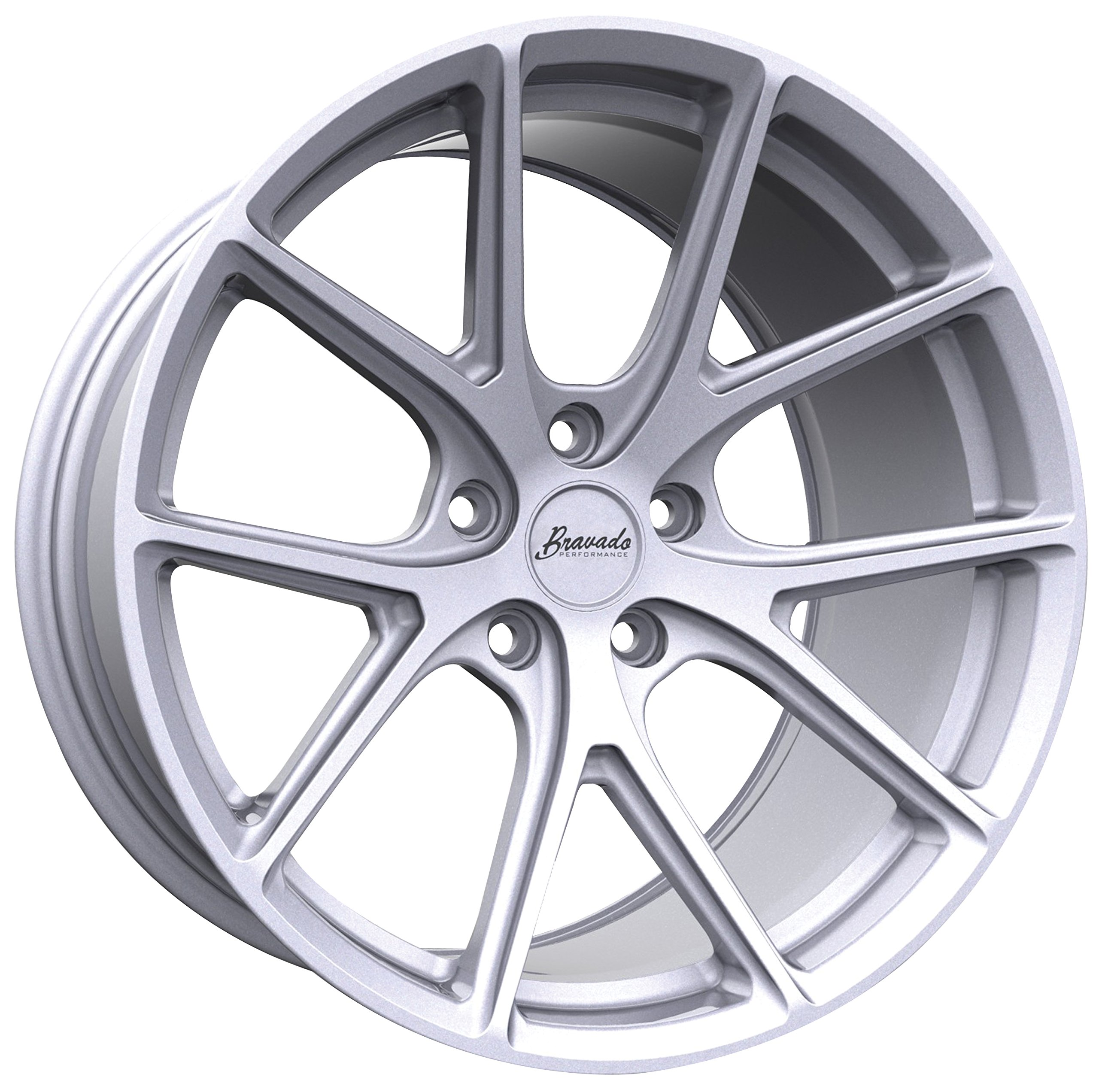 Bravado Tribute Wheel with Silver Finish (20x9.5''/5x114.3mm)