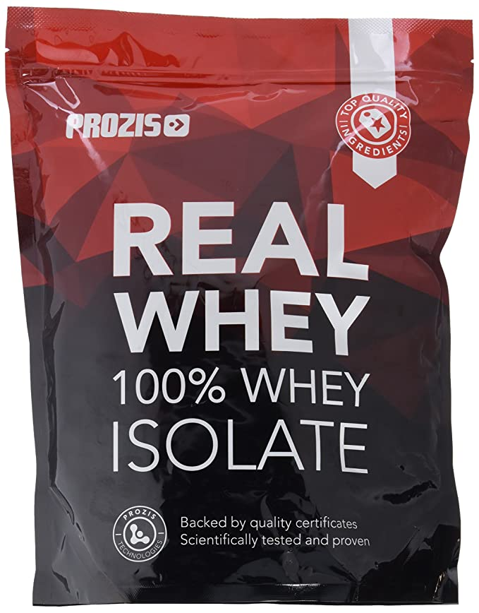 Prozis 100% Real Whey Isolate Protein - Proteína con Sabor a Fresa para Pérdida de Peso, Recuperación Muscular y Culturismo, 1kg, 40 Dosis: Amazon.es: Salud ...