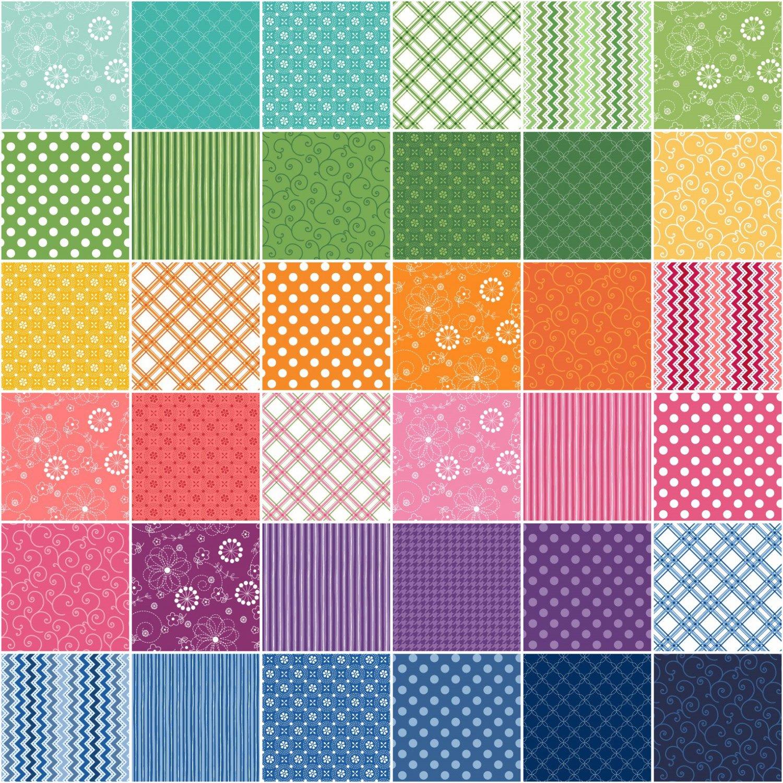 KimberBell Basics Colors 40 Fat Quarters Maywood Studio by Maywood Studio (Image #2)