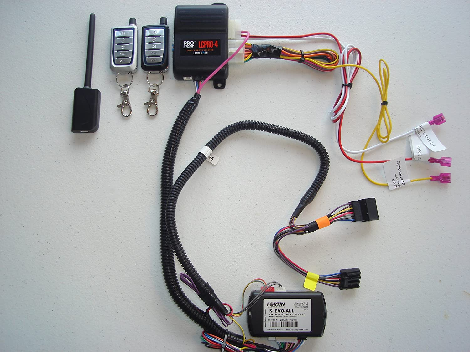 Remote Starter Kit W Keyless Entry For Jeep Liberty 2002 Wiring True Plug Play Installation Car Electronics